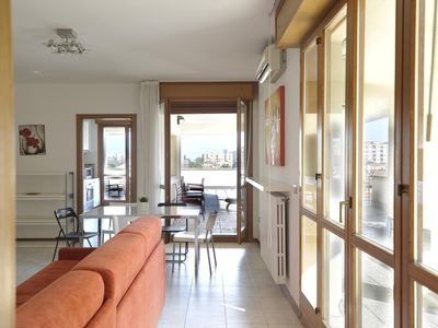 Photo for Spacious Emilia Levante Roof Terrace apartment in Bologna with WiFi, air conditioning, private roof…