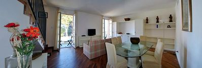 Photo for 2 bedroom Villa, sleeps 6 in Meina with Pool and WiFi