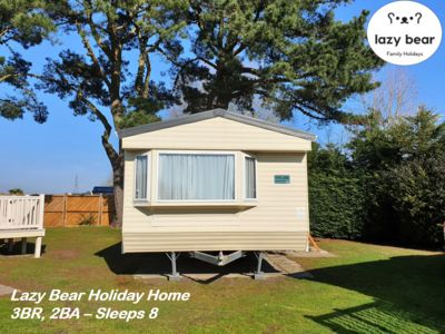 Photo for 3-bedroom, 2-bathroom holiday home, sleeps 8 in the Haven 5* Rockley Park