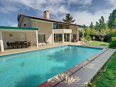 Photo for BAILLARGUES - Air-conditioned villa T4 with swimming pool