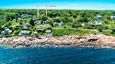 Photo for 2 cottages- Ocean Views From Every Room! 6 bedrooms, 5 beds-ELM + 3 beds- GE