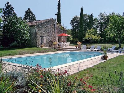 Photo for Charming Stone Gite With Pool  (Sleeps 4 - 10)