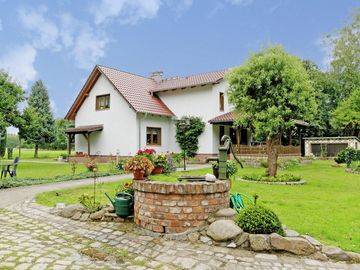 Cosy holiday home with terrace, garden and sunbathing lawn in the Spreewald