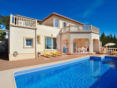 Photo for 2 bedroom Apartment, sleeps 4 in Moraira with Pool, Air Con and WiFi