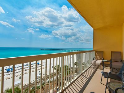 Photo for BeachFRONT for 9 ☀ 2 Pools☀️Inspected & Disinfected☀️3BR Calypso 2-504 West