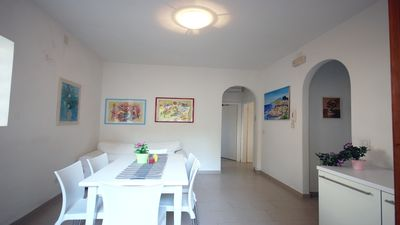 Photo for Villa Sirena a few steps from the sea-with beach service