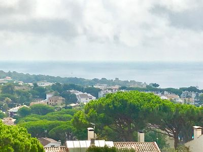 Photo for Sea view terrace and pool in Calella de Palafrugell
