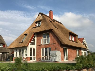 Photo for New familienfr. Thatched cottage 350m v. Beach Cask Sauna Free Wireless Internet, Fireplace