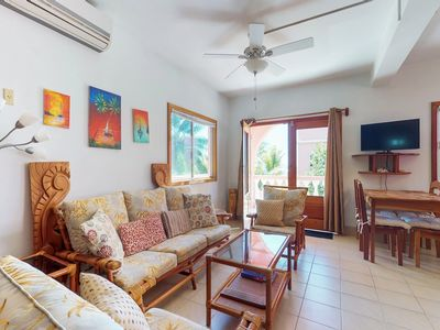 Photo for NEW LISTING! Romantic getaway in paradise w/ veranda, shared pool & beach access