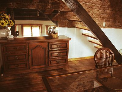 Photo for Comfortable and cozy apartment built inside a 17th century house