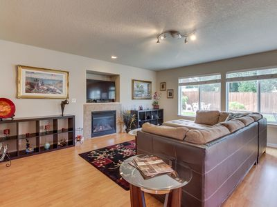 Photo for Comfortable home w/ backyard & fireplace - near vineyards, wineries & events!
