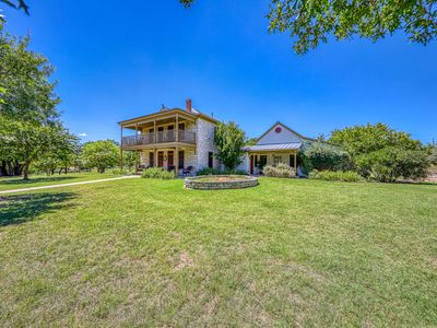 Photo for Beautiful two-house rental w/ balconies & porches - 2 dogs welcome!