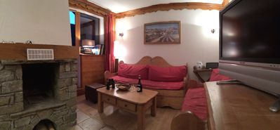 Photo for For rent luxury apartment 6 to 8 p in chalet in the mountains-Oz en Oisans-Franc