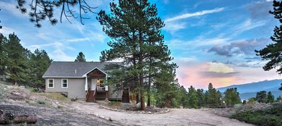 Photo for Gorgeous Twin Lakes Home w/ Deck Overlooking Mtns!