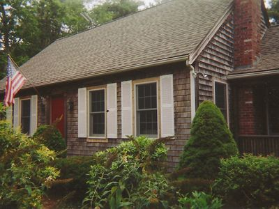 Photo for Oceanside 4 Bedroom 2 bath Cape with central air near Beaches and Ponds