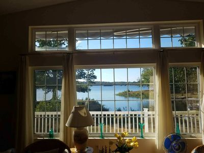 Photo for Lakefront at Lake of Egypt sleeps 8! Dock/Kayak/Paddleboard, home on one level!