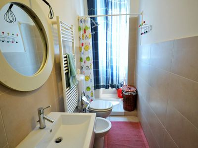 Photo for Two-room flat with yard near Lingotto Fiere