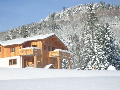 Photo for Comfy chalet with a dishwasher, in the High Vosges