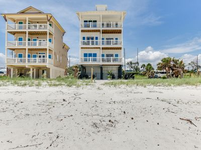 Photo for 7BR/6B Beach Front Home Private Pool. Best Deal on Beach.