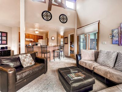 Photo for Top Floor Condo with Soaring Ceilings- HT/ Pool- Disc Lift Tix Avail