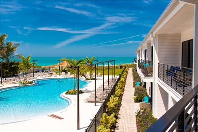 Anna Maria Beach Resort Suite: 1 BR / 2 BA Resort Room in Holmes Beach -  Holmes Beach