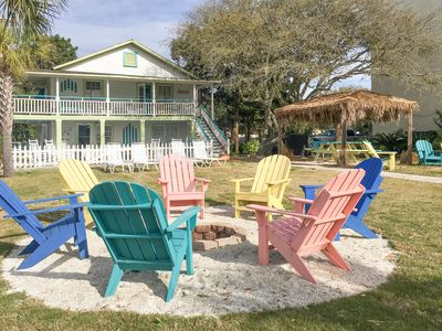 Fire Pit - Welcome to Myrtle Beach! This duplex cottage is professionally managed by TurnKey Vacation Rentals.