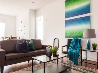Photo for Bright + Spacious | Parking @ West Village 2BR