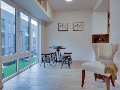 Photo for Modern Q21 condo with unbeatable location - pedestrian paradise!