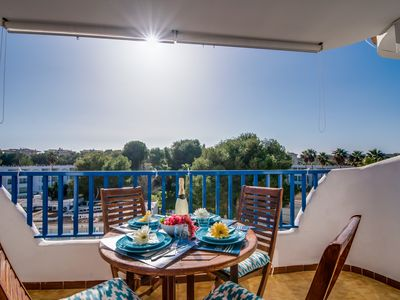 Photo for ☼ Sunny apartment just two minutes from the beach of Cala Marçal.