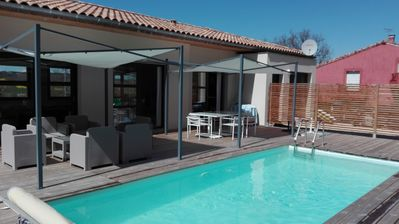 Photo for Luxury villa in Lévignac in the belt of TOULOUSE