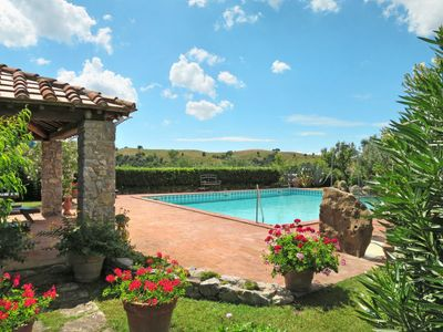 Photo for 3 bedroom Villa, sleeps 6 in Case Bardi with Pool and Air Con