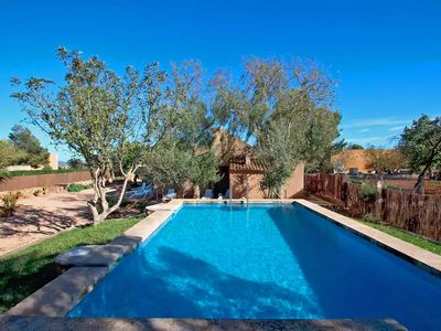 Photo for Finca Es Tres Pins - AirCond - Wi·Fi - Pool - - Country house for 6 people in Campos