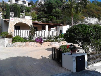 Photo for Single storey villa in Kamares Village, Tala, Paphos with private pool