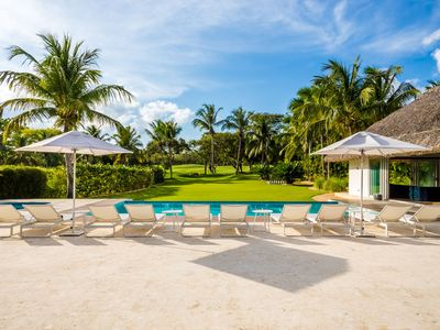 Photo for Casa de Campo's Premier Tropical Modern Villa, Walking Distance to the Beach!