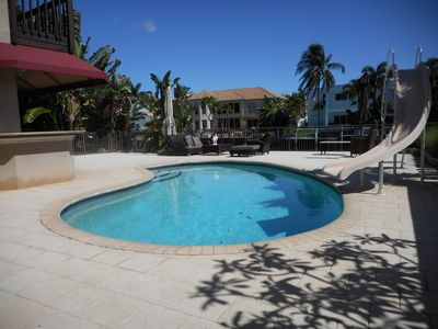 Photo for **BEST Deal On Water!** Special! Lighthouse Point Waterfront Heated Pool Dock!