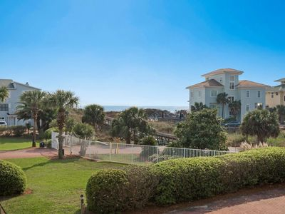 Photo for Heated Pool - Gulf Views - Steps To Private Beach - Gated Community - Walk to Gulf Place - WiFi