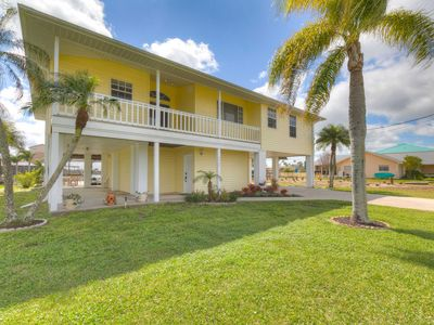 Photo for NEW! Waterfront Coastal Home w/Private Pool & Dock
