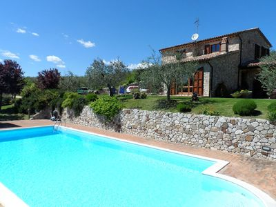 Photo for Villa Diana. Lovely house with pool. Stunning view and relaxing place.
