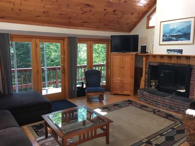 Photo for Enjoy Spring Skiing and Summer in Stowe - hot tub, views
