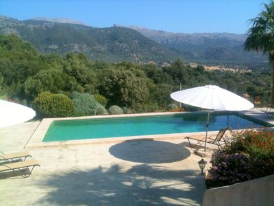 Photo for SPECIAL PRICE AUGUST + SEPTEMBER.  BEAUTIFUL LARGE AND PRIVATE VILLA FOR 8..