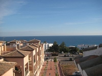 Photo for Modern Apt With Stunning Roof Terrace and pool in beautiful old town.