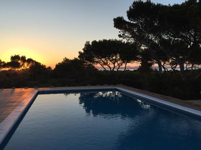 Photo for Villa with pool and sea view / Ibiza