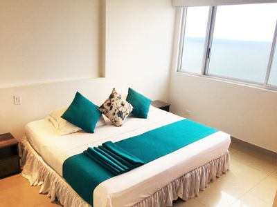 Photo for Apartamento Oceanfront - Bocagrande CT03