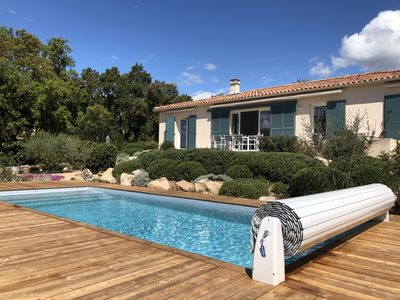 Photo for INDIVIDUAL VILLA FOR 6 TO 8 PEOPLE WITH HEATED PRIVATE SWIMMING POOL
