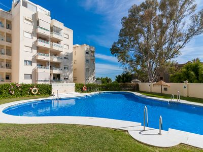 Photo for 2 min walking from Beach with swimmingpool and FREE WIFI - Costabella Canovas