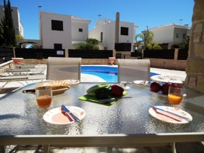 Photo for SOPHIA ROSE - 3 BED WITH POOL - PROTARAS JUST 5 MINS DRIVE TO CENTRE - Three Bedroom Villa, Sleeps 6