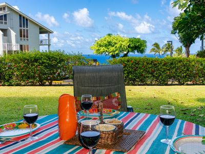Photo for Perfect romantic getaway,updated and spacious,nice ocean view,great amenities