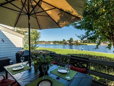 Photo for Gorgeous Waterfront, Paddle Boards, Boat Tie-up, Fishing, Swim, Club Access!