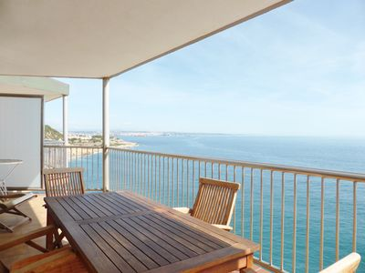 Photo for Apartment-Family-Ensuite with Bath-Sea View-Familidays 03 Del Far