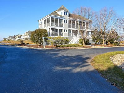 Photo for FREE DAILY ACTIVITIES!  Beach House with it all! Bay & Ocean Views, Beach, Private Community Pool & Tennis Courts